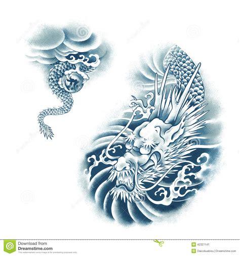 japanese dragon stock illustration image of fierce