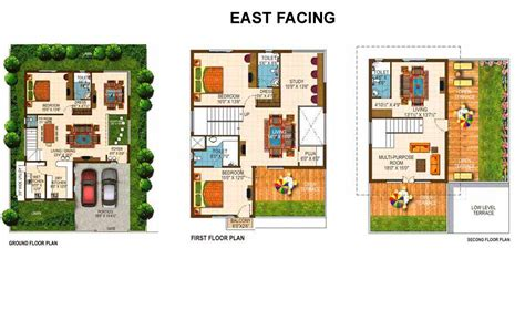 villa floor plans india overview richmond villas hydershakote hyderabad