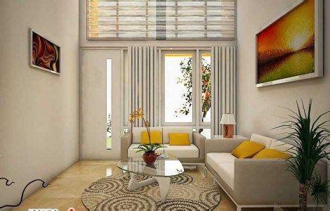 desain ruang tamu  minimalis ideal desain interior