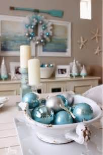 Seashell Bathroom Decor Ideas breezy designs coastal christmas xmas decor recipes