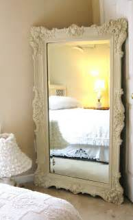 Mirror For Bedroom Vintage Leaning Mirror Classic Bedroom Interior Design