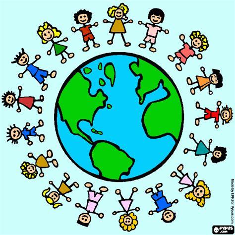 imágenes motivadoras para niños ni 241 os unidos para colorear ni 241 os unidos para imprimir