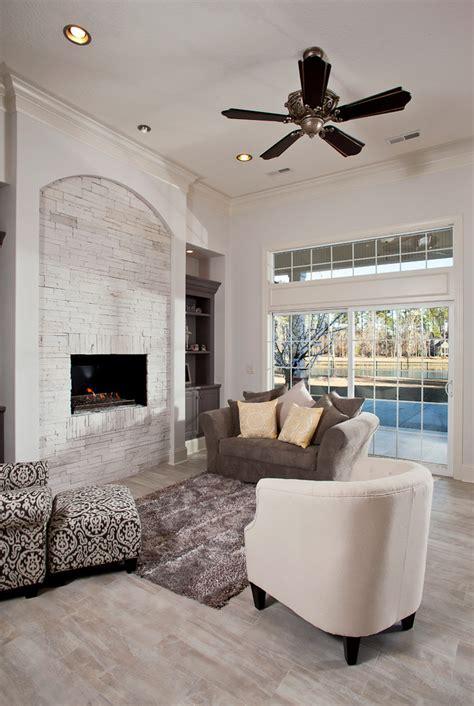 30 ideas of stylish white brick fireplace homesfeed