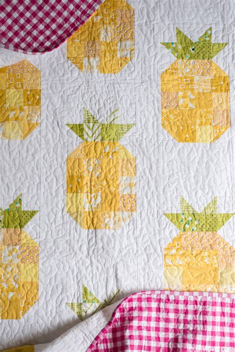 Pineapple Quilt Tutorial by The Pineapple Quilt Quilty