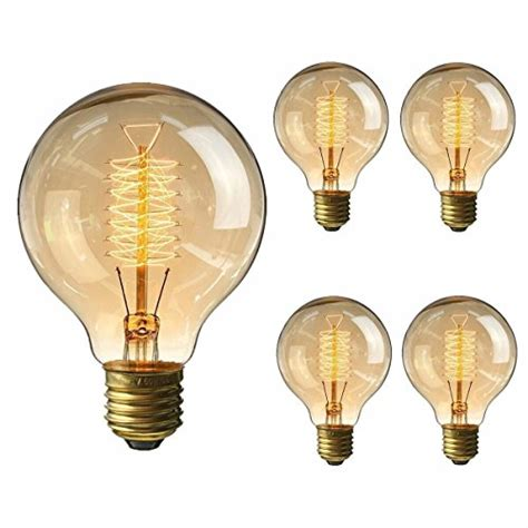 Filament Bulb Light Fixtures Kingso Vintage Edison Bulb 60w Incandescent Antique Dimmable Light Bulb Dimmable For Home Light