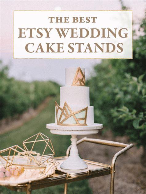etsy wedding cake stand the best etsy wedding cake stands junebug weddings