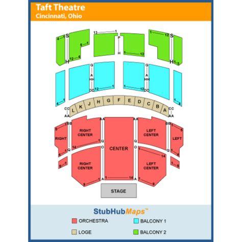 taft theater seating map taft theatre events and concerts in cincinnati taft