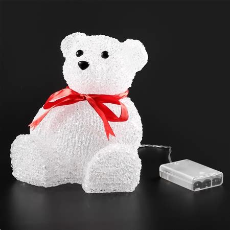 christmas led light acrylic polar bear online shopping