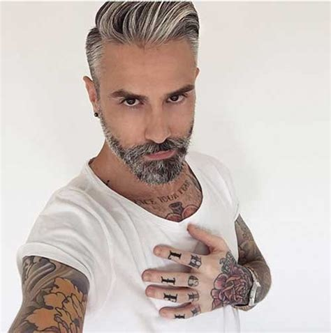 Mens Grey Hairstyles by 50 Best Mens Haircuts Mens Hairstyles 2018