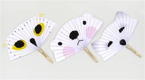 printable paper fans free printable crafts for kids mr printables
