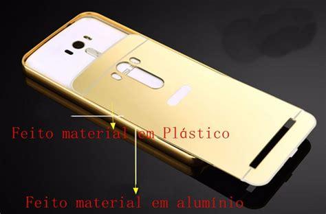 Metal Bumper Ume Asus Zenfone 2 55 capa bumper espelhada asus zenfone 2 laser tela 5 5 top r 15 88 em mercado livre