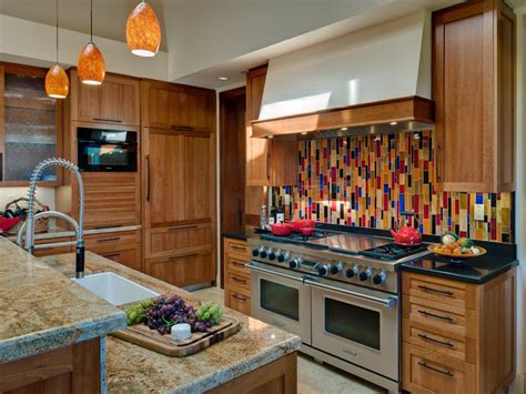 colorful backsplash tile 30 trendiest kitchen backsplash materials kitchen ideas