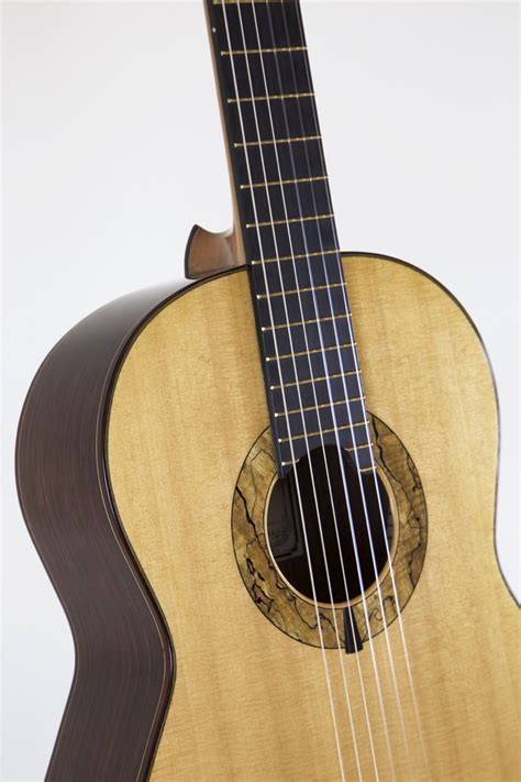 Best Handmade Classical Guitars - luthier alan simcoe spruce top recital