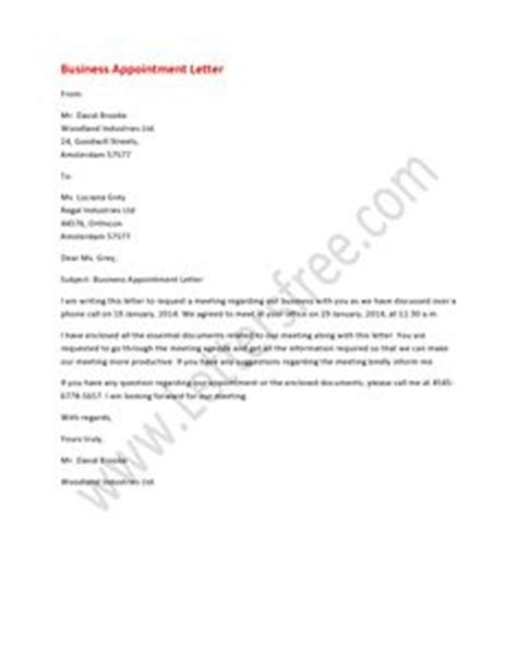 Thank You Letter For An Schedule 1000 Images About Appointment Letters On Letters Writing Guide And Thank You Letter
