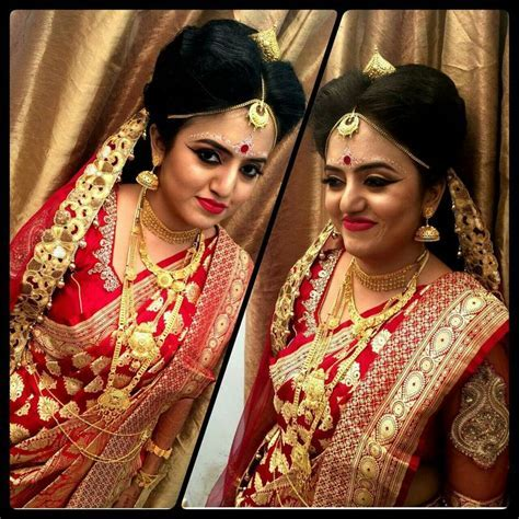 Traditional Bengali Bridal Look   wedding make up