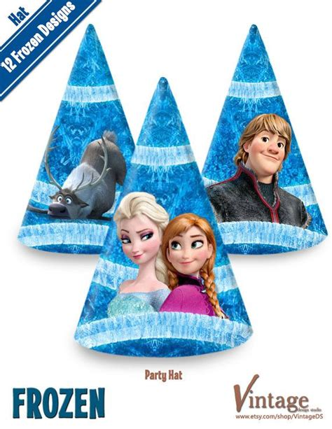printable frozen hats 4 best images of free frozen printable party hat frozen