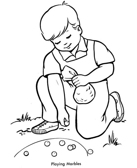 free coloring pages of marbles