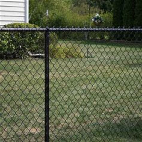 1000 ideas about black chain link fence on