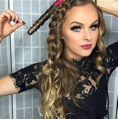 courtney kerrs waves with braids how to everyday waves hair tutorial with nume titan 3 curling