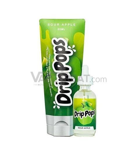 Sour Sweet 60 Ml Premium Usa Liquid Sour Apple Drip Pop E Liquid By Drip Pops 60ml Vapetreat
