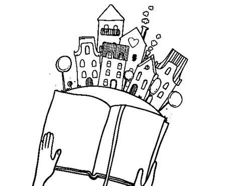 ciudad de dibujos para colorear dibujo de un cuento en la ciudad para colorear dibujos net