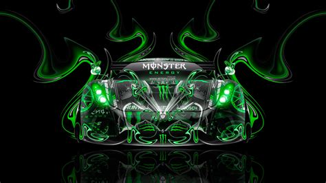 Monster Energy Koenigsegg Regera Front Super Plastic Car 2015   el Tony