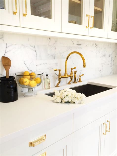 gold kitchen sink faucet photos hgtv