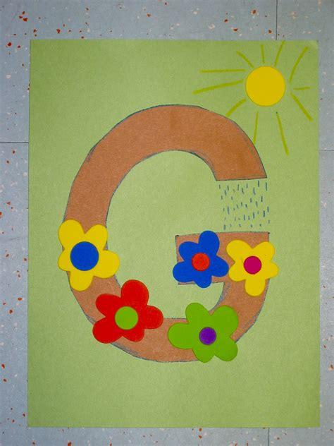 craft for preschool letter g crafts preschool