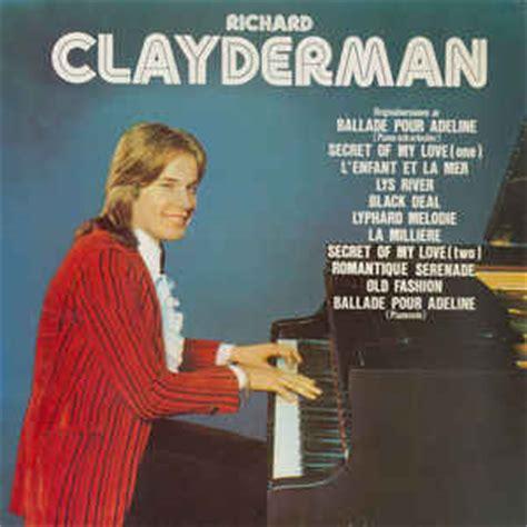 ballade pour adeline richard clayderman piano cover richard clayderman ballade pour adeline vinyl lp