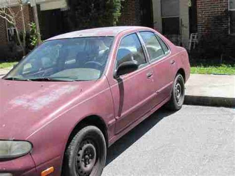 all car manuals free 1994 nissan altima electronic throttle control purchase used 1994 nissan altima gxe 2 4 liter 5 speed manual trans ice cold a c smoke free in