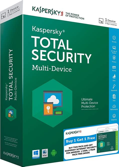 Security Kaspersky 2018 kaspersky total security 2018 1 pc 1 an code d