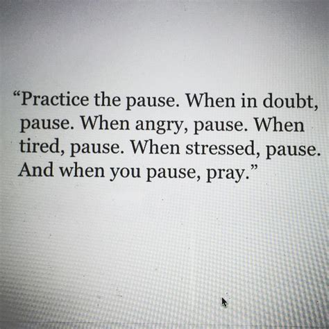 Pause The practice the pause invisible me invisible you