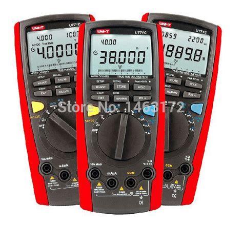 measure capacitor with multimeter uni t ut71c intelligent digital multimeter can measure capacitance frequency temperature true
