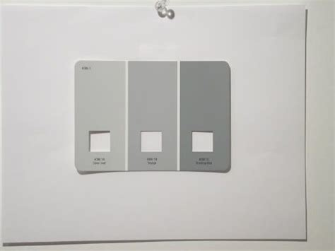 valspar drizzling mist colours from left to right silver leaf 4006 1a voyage 4006 1b