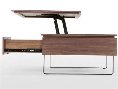 Functional Coffee Table Flippa Functional Coffee Table With Storage Walnut Furniture Storage Ideas And Coffee Table
