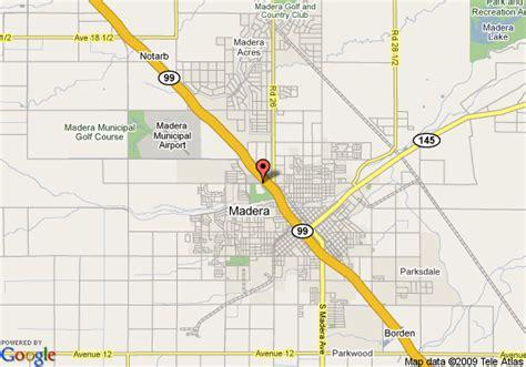 madera california map map of 8 motel madera madera