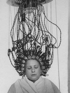 my first perm with perm machine by john m hair salon culture on pinterest beauty salons vintage