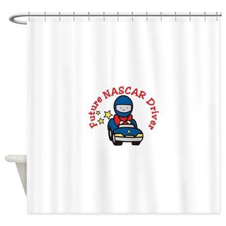 nascar shower curtain future nascar driver shower curtain by concord17