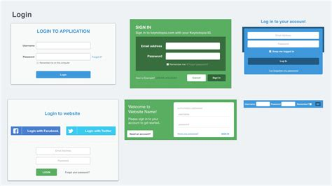 design pattern web application web ui prototyping kit for keynote and powerpoint keynotopia