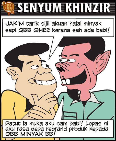 Minyak Sapi Qbb harian metroll tabloid berita bohong no 1 malaysia