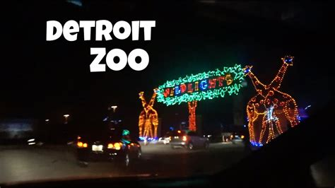 lights detroit zoo lights in detroit zoo decoratingspecial