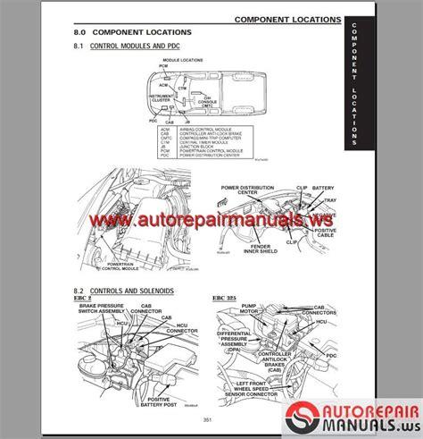 car repair manuals online free 2002 dodge dakota club regenerative braking chrysler jeep dodge 2002 repair manual auto repair manual forum heavy equipment forums