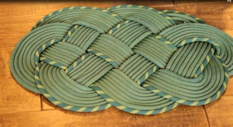 rope rug how to make a climbing rope rug trading post