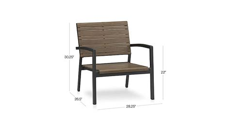 rocha lounge chair crate and barrel