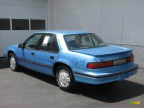 1992 medium blue metallic chevrolet lumina sedan