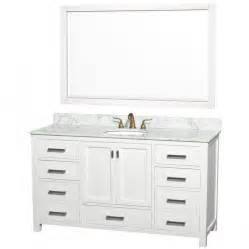 60 bathroom vanity sink 60 white bathroom vanity best home design 2018