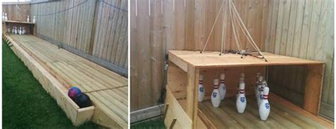 diy backyard bowling alley diy bowling alley for backyard beesdiy com