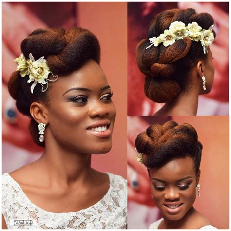 Wedding Hairstyles Brides Magazine by You Can Rock Your Nappy Hair On Your Wedding Like These