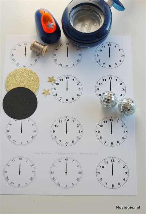printable new years eve clock new year s eve midnight clock printable