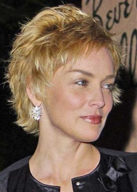 how to style sharon stones short hair style pictures of celebrity short hairstyles short hairstyles